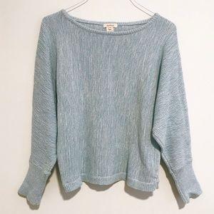 Sundance | Light Blue Knit Sweater M